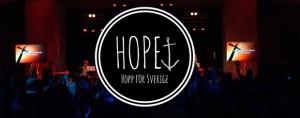 Gemensam gudstjänst i Kulturhuset med Hope