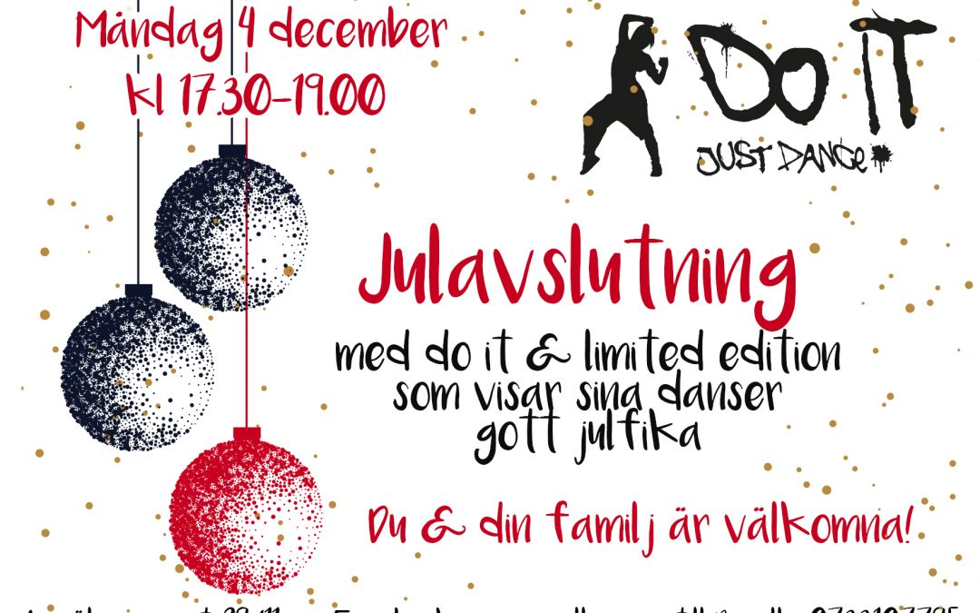 Julfest för do it