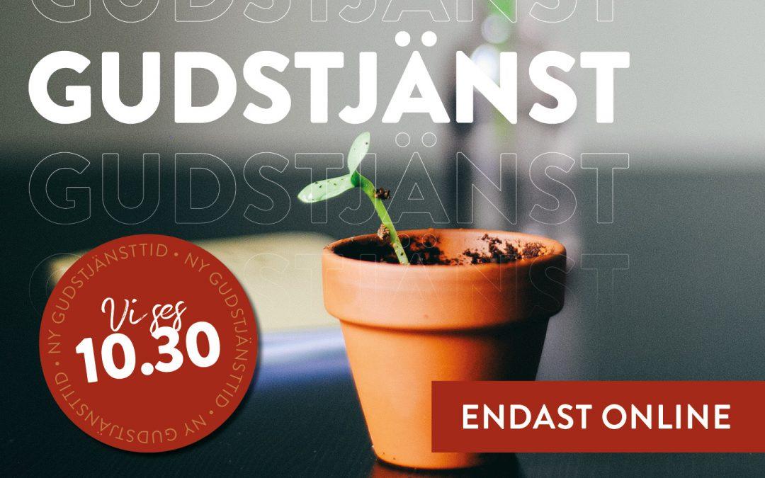 Välkommen till gudstjänst söndag den 6/12 – endast online!