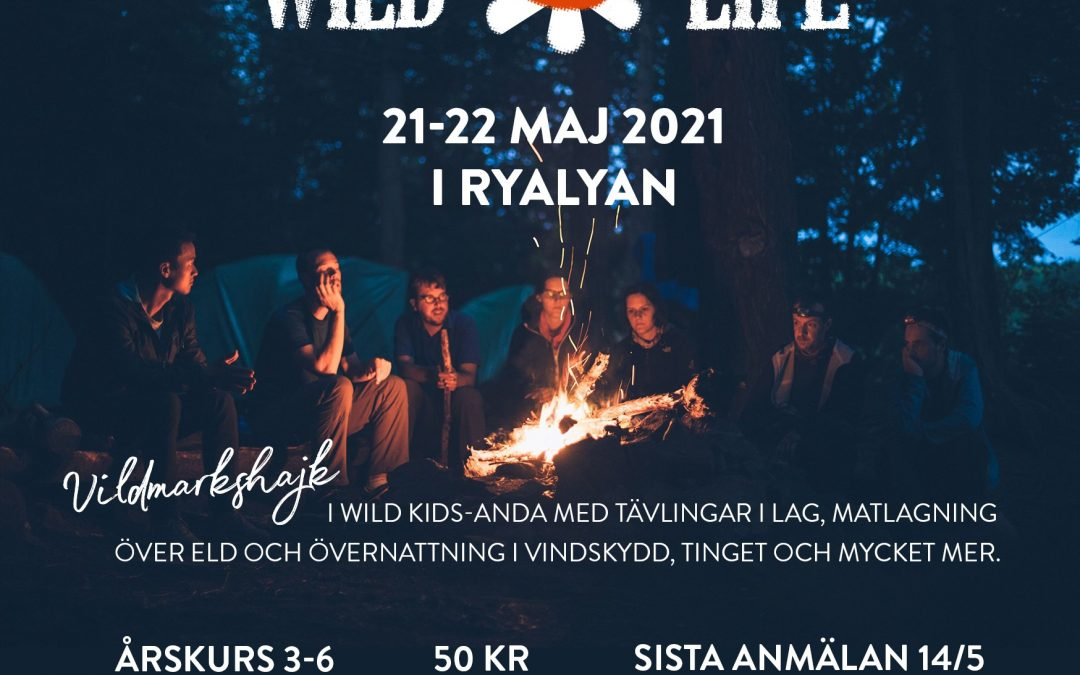 Wild life — vildmarkshajk