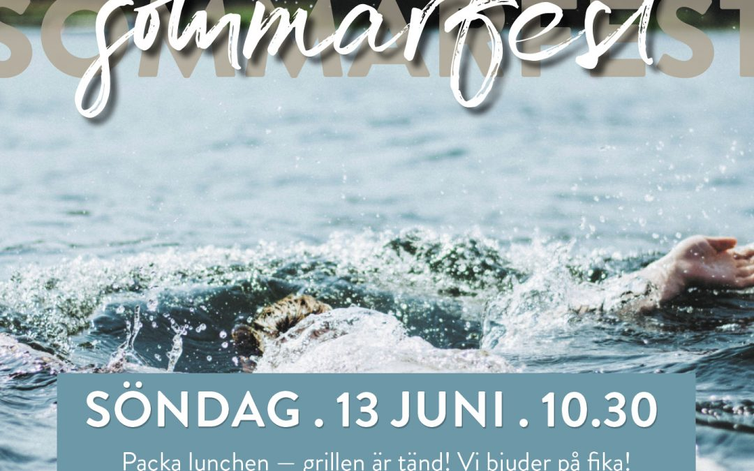 Sommarfest vid Ungdomsborgen