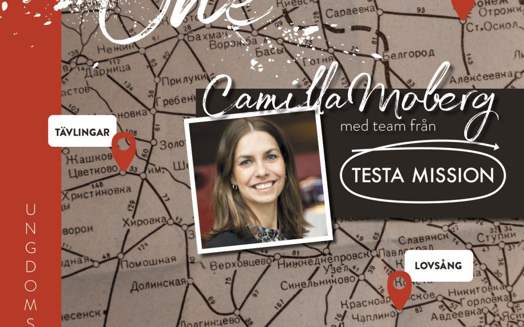 One – ungdomssamling – med Camilla Moberg och Testa mission