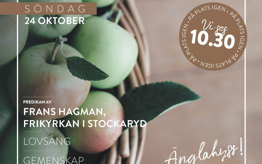 Välkommen till gudstjänst – Frans Hagman, Frikyrkan i Stockaryd